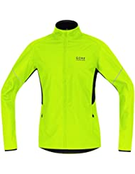 GORE RUNNING WEAR Warme Laufjacke, Leicht, GORE WINDSTOPPER, ESSENTIAL WS AS Partial Jacket