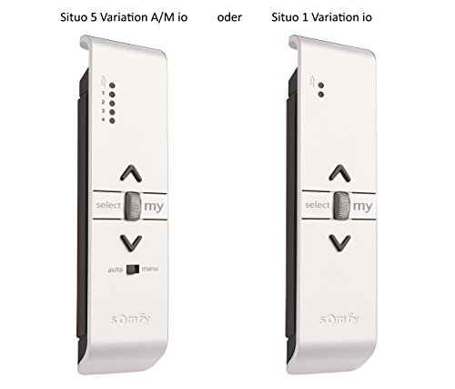 Somfy® Smart Home Funk-Handsender Situo 5 Variation A/M io oder Situo 1 Variation io in verschiedenen Farben. (Situo 5 Variation A/M io Pure)