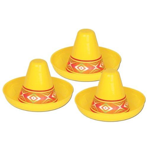 k-Sombrero gelb 12 cm ()