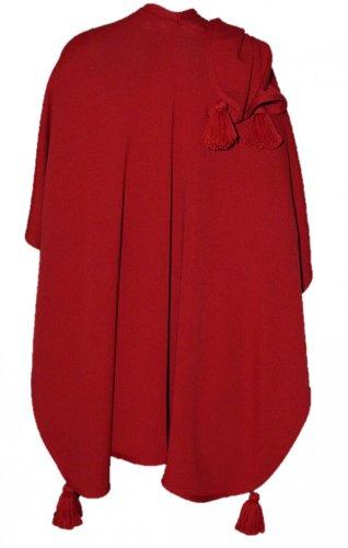 tola Wetterfleck rot Schultertuch Tuch Trachtenumhang Schal (Kostüm Shop In Red Deer)