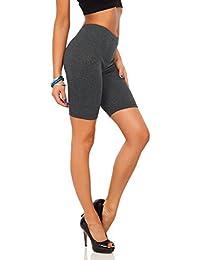 db2fa1a9e55bb FUTURO FASHION Cotton Leggings 1/2 Length Over-Knee Shorts Active Sport  Casual Pants