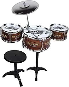 Webby Kids Jazz Drum with Stand and Seat