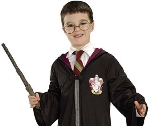 zielle Harry Potter und Hermine Wand & Book-Tage-Woche, Kostüm Kostüm-Set (Herren-harry-potter-kostüm)