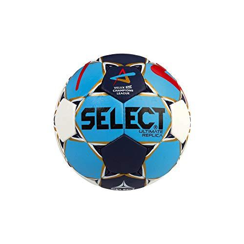 SELECT Ultimate Replica-Pelota de Balonmano, Todo el año, Color We/Bl/Ro, tamaño 3