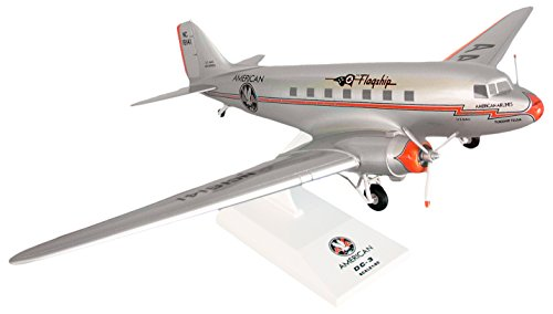 can Airlines DC-3Flugzeug Modell mit Gear Flagship Tulsa (Maßstab 1/80) ()