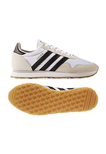 adidas Herren Haven Sneakers Weiß (Footwear White/core Black/gum)