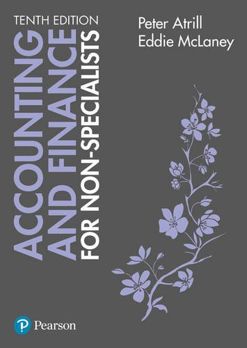 Accounting & Finance for Non-specialists