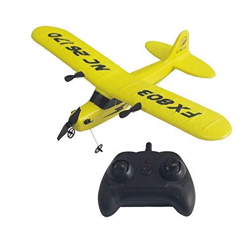 VCB Rc Radio Control Flugzeug Segelflugzeug 150M Steuerabstand Flugzeug Spielzeug - Gelb