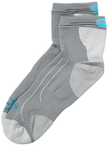 PUMA Erwachsene Sportsocken Cell Performance + R. Light Quarter 1P, Grey, 43-46, 141004001 (Damen Socken Quarter Performance)