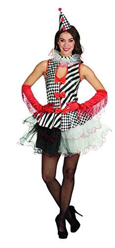 Columbine Kostüm - Andrea-Moden 807-40/42 Columbine-Kleid, 40/42