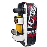 Kamiwwso Boxe in Pelle Resistente ai Guanti Boxe per Palestra/Boxe/Muay Thai Taekwondo Karate Sanda MMA