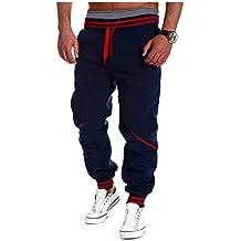 Pantalones Deportivos - Hombres Pantalón de Chándal de Fitness Jogging