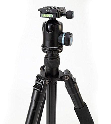 Preisvergleich Produktbild Gowe Professionelle Aluminium Kamera Stativ Einbeinstativ Kugelkopf Max laden 18kg für Canon Nikon Sony DSLR Kamera