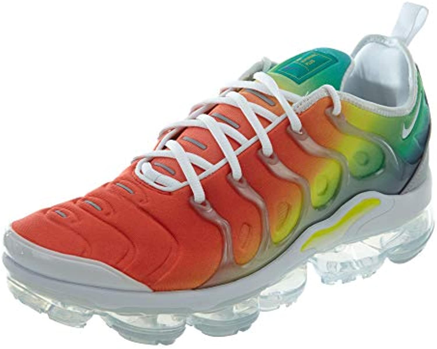 NIKE NIKE NIKE Men's Air Vapormax Plus Shoe White/Green/Yellow B07BDRH4TX Parent 69b31d