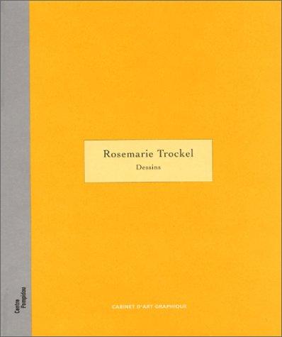 Rosemarie Trockel. Dessins