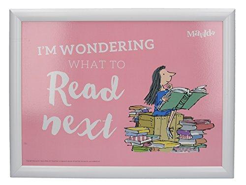 Creative Tops Roald Dahl acolchada puf bandeja de regazo con impreso Matilda...