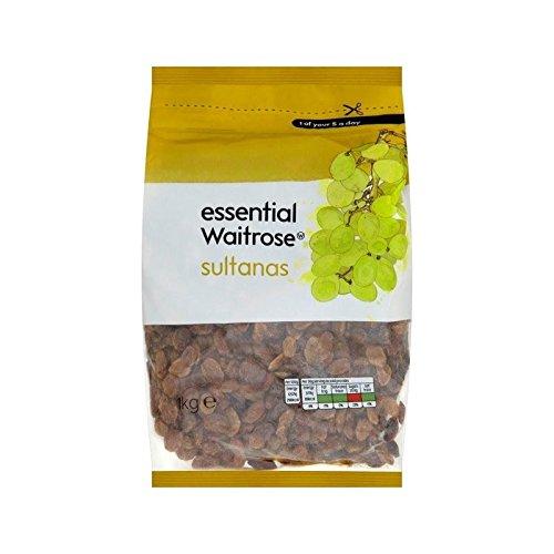 Sultanes Essentielle 1Kg Waitrose - Paquet de 6