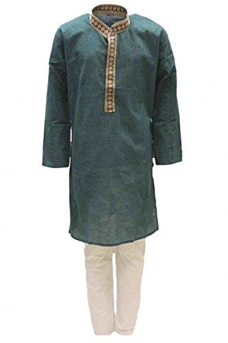 enbein Jungen Kurta Pyjama Indian Bollywood fancy Dress 10 years (Fancy Indian Dress)