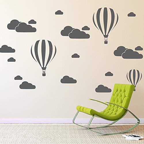 BallonFür Kinderzimmer Wohnkultur Kinderzimmer Dekoration Schlafzimmer Diy Removable Cartoon Vinyl   57 * 41 Cm ()