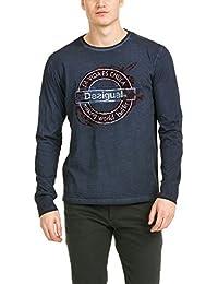 Desigual Herren T-Shirt Ts_londonice Rep