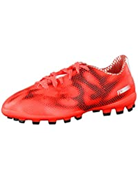 adidas Bota Jr F10 TRX AG Solar red-White-Black