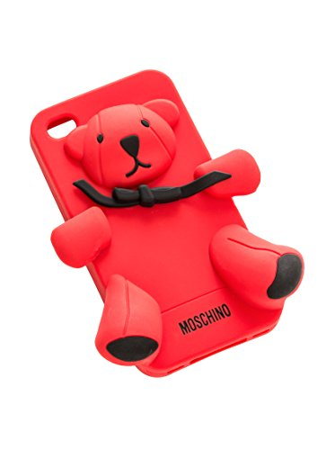 Moschino Love Housse iPhone 4/4S Rouge