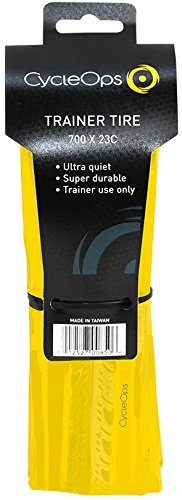 Gelb Trainingsreifen, Yellow, One Size (Fahrrad Trainer Cycleops)