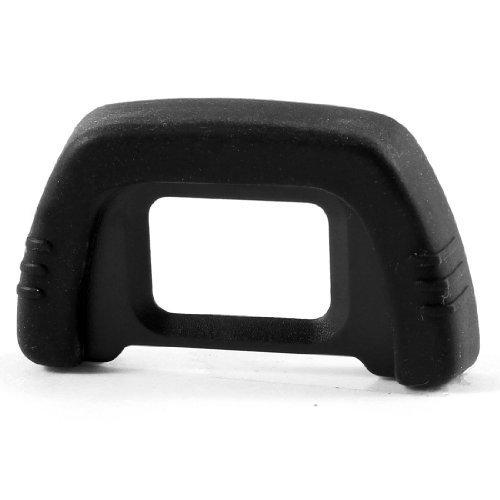 telecamera Oculare - SODIAL(R) DK-21 BNero gomma Avvolto Plastica occhiali EB per Nikon D90 D80 D70S D7000 D200 DSLR