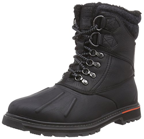 Rockport Men's TRLBRKR DUCK WP Boots - Black, Size 10 UK