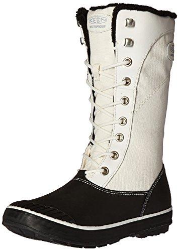 Keen, Scarpe stringate donna bianco Star White/Black Star White/Black
