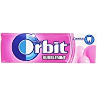 Orbit Bubblemint Chicle sin Azúcar, Sabor a Fresa - 14 g
