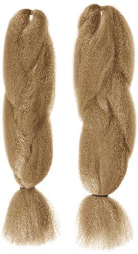 American Dream Super Soft Braid Farbe 24 - Aschblond, 2er Pack (2 x 1 Stück) (Curly Hair Extensions Lila)