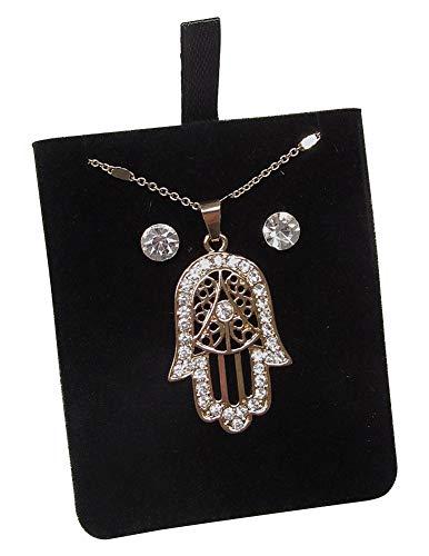 + Halskette Anhänger Hand der Müdigma Fatima Gold ()