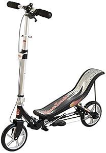 Space Scooter X580 Schwarz Push Board Pump Action Kinderroller mit...