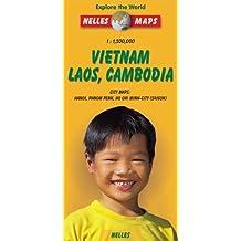 Vietnam, Laos, Cambodia (Nelles Maps)