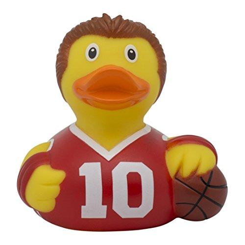 Lilalu 2120 Basketball-Spieler, Badeente aus Gummi