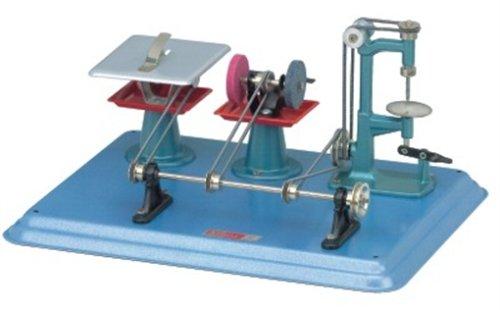 Wilesco M56 - Artículos para diseño de maquetas (Previamente montado, Azul, Rojo)