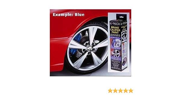 E-Tech qualit/à Blu Auto bay Blocco valvola di Pinza Freno Paint Kit