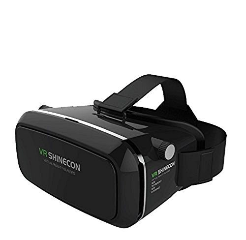 Augmento Shinecon | Virtual Reality Headset | VR Box 3D | VR box | 3D virtual reality | 3D Glass Box | 3D VR headset | VR Box with headset| Headmounted Wearable | Most Comfortable Kit | 360 Degree Panoramic View | Suitable For 4-6 inch Smartphones | Premium IMAX 3D Cinema | Immersive Gaming Experience | Innovative Technology For Android IOS Apple iPhone Samsung Sony HTC Gionee Oppo Oneplus iBall Vivo Intex Micromax by GETITPAL