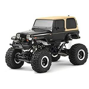 tamiya 300058429 rc jeep wrangler ferngesteuertes offroad fahrzeug 1 10 elektromotor. Black Bedroom Furniture Sets. Home Design Ideas
