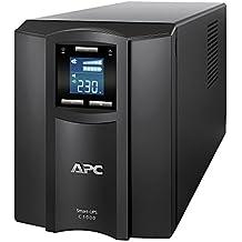 APC Smart-UPS C - SMC1000I - Sistema de alimentación ininterrumpida SAI, 1.000VA