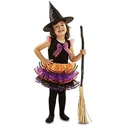 Disfraz de brujita fantasía para niñas de 1-2 años.