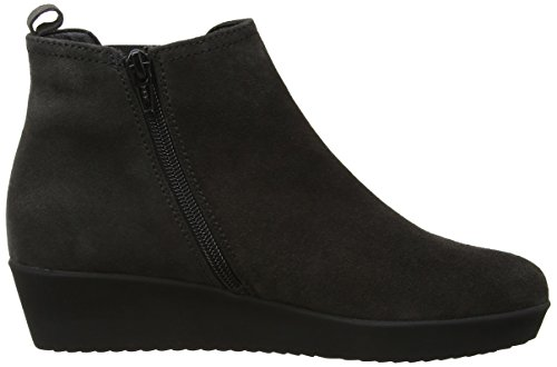 Gabor Ghost, Bottes Classiques femme Gris (dark Grey Suede Micro)