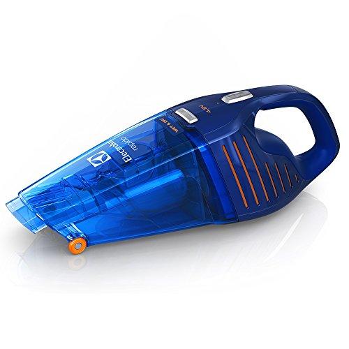 Electrolux Rápido - Aspirador de mano con batería de 4,8 V y función líquidos y sólidos