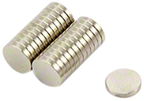Magnet Expert® 6mm diamètre x 1mm N35 néodyme aimant, 0,33kg force d'adhérence, pack de 25