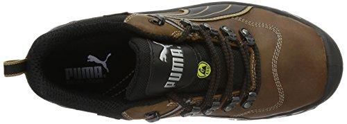 Puma Condor Low chaussures de travail S3 640541 Noir/brun/juane