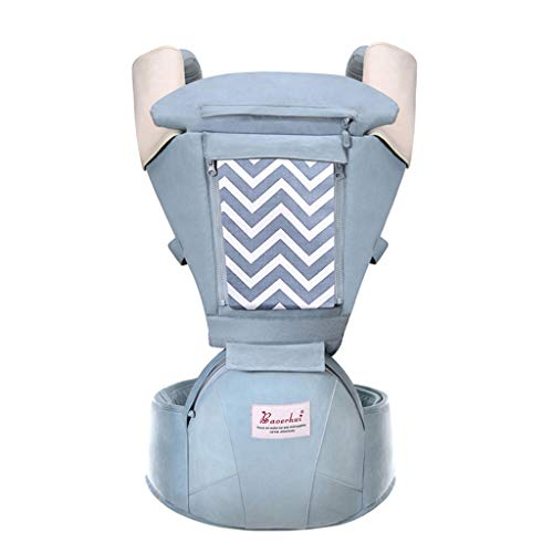 Lenfesh Tragegurt Baby Tragehilfe Babytrage Neugeborene ariable Tragepositionen und verstellbares Design, atmungsaktive Rückentrage für alle Jahreszeiten