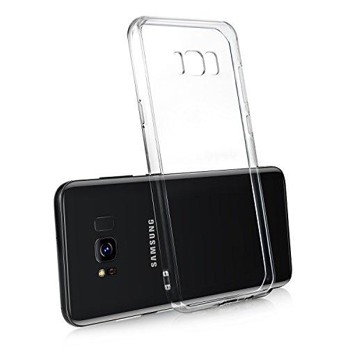 TOPLUS Samsung Galaxy s8 Hülle Transparent Neue Version Galaxy s8 schutzhülle TPU Rand und Harter PC Rückseitige Abdeckung für Samsung Galaxy S8 Case Cover (Transparent)