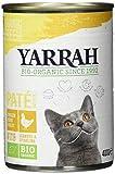 Yarrah Bio Pate Huhn mit Spirulina und Meeresalgen, 400 g