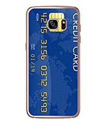 Fuson Designer Back Case Cover for Samsung Galaxy S7 Edge :: Samsung Galaxy S7 Edge Duos :: Samsung Galaxy S7 Edge G935F G935 G935Fd (Digital Payment Techie Swipe Young Boy Girl)